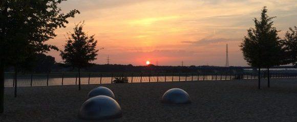 Duisburg: Rheinpark Teil 1 - am Strand