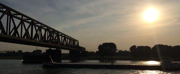 Duisburg: Rheinpark in Logenlage