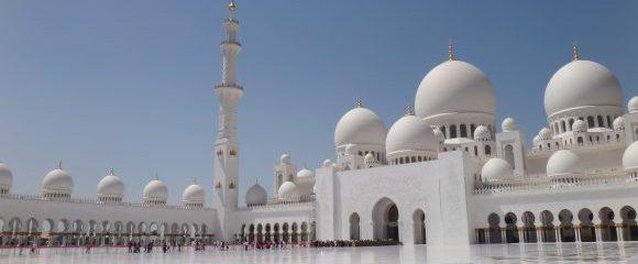 Abu Dhabi: Das weiße Wunderwerk