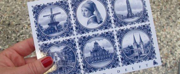 Delft: Prinzenstadt in blau-weiß