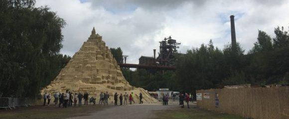 Duisburg: Sandkunst mit Weltrekord
