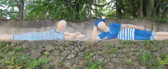 Krefeld: Kunst am Rheinufer