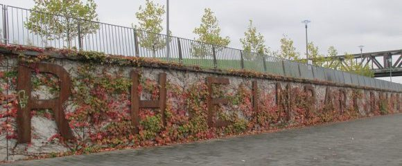 Duisburg: Rheinpark im Herbst