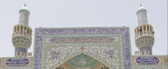 Dubai: Die schöne blaue Moschee