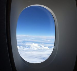 Flugzeug Fensterplatz