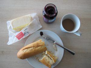 Belgien Frühstück