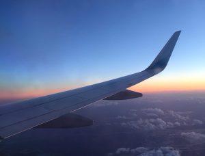 Flugzeug Fensterblick