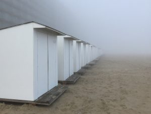 Belgien Middelkerke Strandhäuser