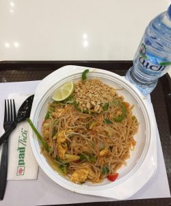 Dubai Mall Food Court Pad Thai