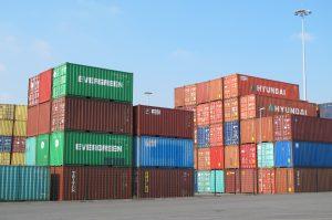 Duisburg Hafen Container