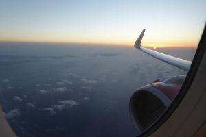 Fensterplatz Flugzeug Air Malta