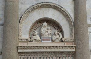 Pisa Detail Glockenturm