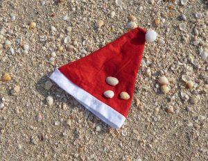Weihnachten Strand