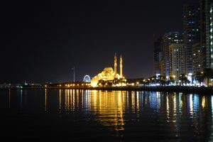 Sharjah by night