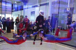 Indoor Skydiving Bottrop fliegen